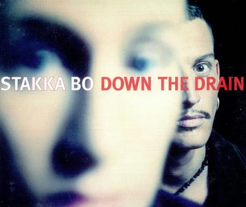 "Stakka Bo Down The Drain CD single (CD5 / 5"") UK SKKC5DO507352"