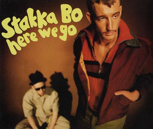 """Stakka Bo Here We Go CD single (CD5 / 5"""") UK SKKC5HE274782"""