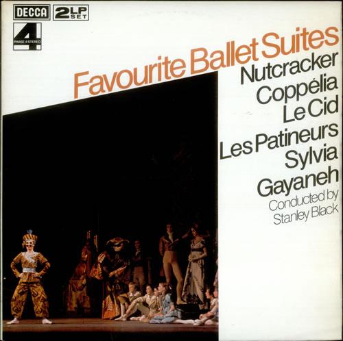 Stanley Black Favourite Ballet Suites 2-LP vinyl record set (Double Album) UK 1SB2LFA533122