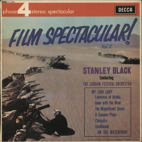 Stanley Black Film Spectacular! Vol. 2 vinyl LP album (LP record) UK 1SBLPFI744094