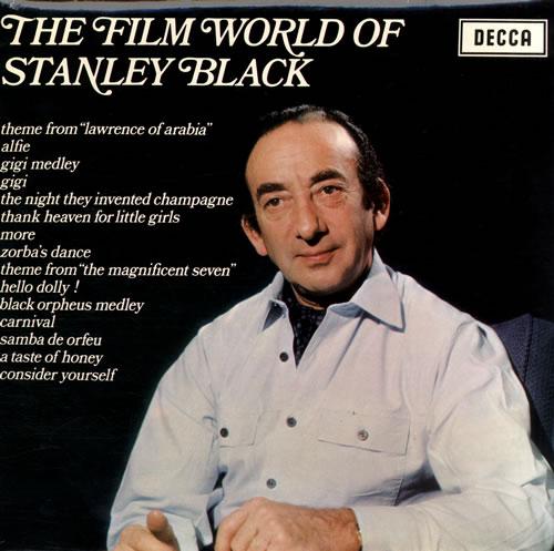Stanley Black The Film World Of Stanley Black vinyl LP album (LP record) UK 1SBLPTH560831