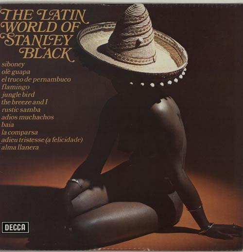 Stanley Black The Latin World Of vinyl LP album (LP record) UK 1SBLPTH636184