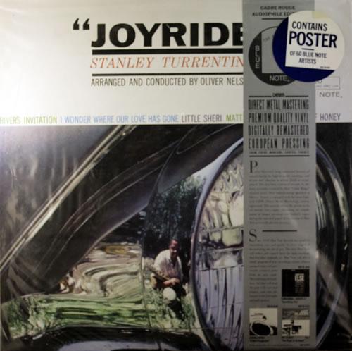 Stanley Turrentine Joyride - Sealed vinyl LP album (LP record) French SU6LPJO551448