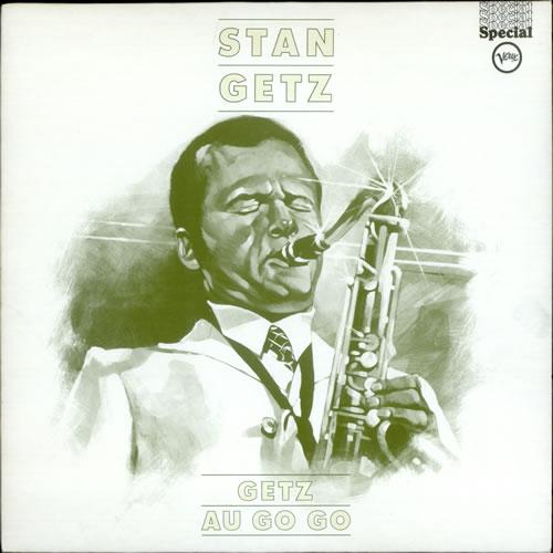 Stan Getz Getz Au Go Go vinyl LP album (LP record) UK SGQLPGE291033