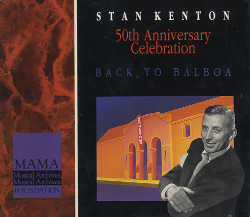 Stan Kenton 50th Anniversary Celebration - Back To Balboa 5-CD album set Canadian SK25CTH494739