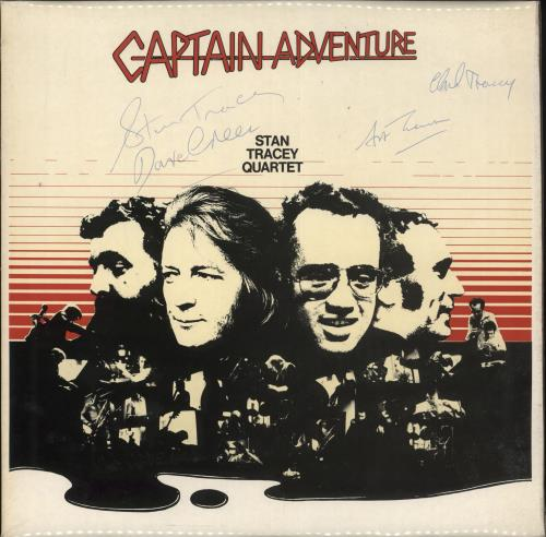 Stan Tracey Captain Adventure - Autographed vinyl LP album (LP record) UK S0ZLPCA712437