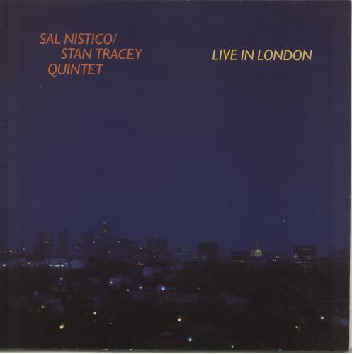 Stan Tracey Live In London vinyl LP album (LP record) UK S0ZLPLI471741