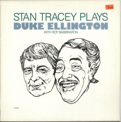 Stan Tracey Stan Tracey Plays Duke Ellington With Roy Babbington vinyl LP album (LP record) UK S0ZLPST529048