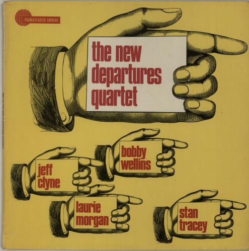 Stan Tracey The New Departures Quartet vinyl LP album (LP record) UK S0ZLPTH648142