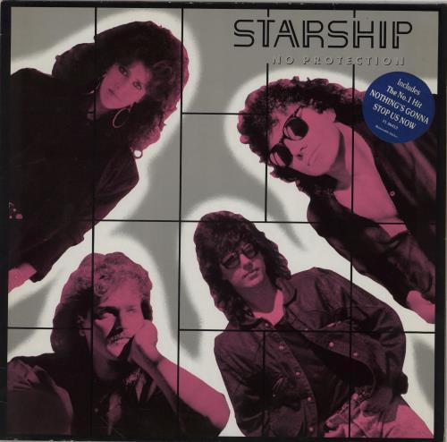 Starship No Protection vinyl LP album (LP record) German SHILPNO266501