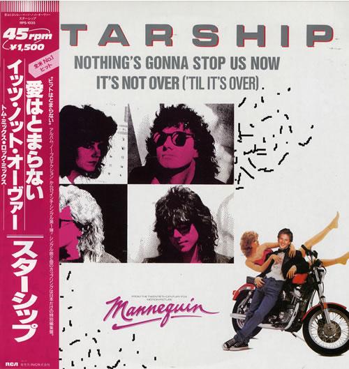 starship nothing 39 s gonna stop us now japanese vinyl lp. Black Bedroom Furniture Sets. Home Design Ideas