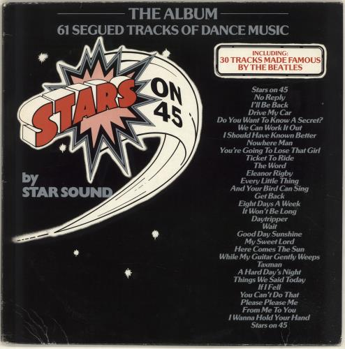 Star Sound Stars On 45 Uk Vinyl Lp Album Lp Record 501492