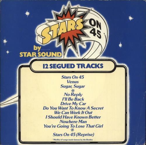 "Star Sound Stars On 45 7"" vinyl single (7 inch record) UK W7A07ST731130"