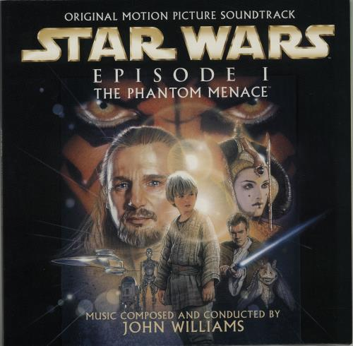 Star Wars Episode 1 The Phantom Menace picture disc LP (vinyl picture disc album) Dutch WRSPDEP209767