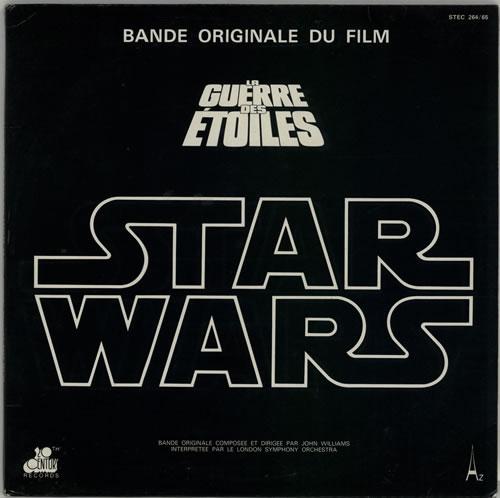 Star Wars Star Wars + Poster 2-LP vinyl record set (Double Album) French WRS2LST612839