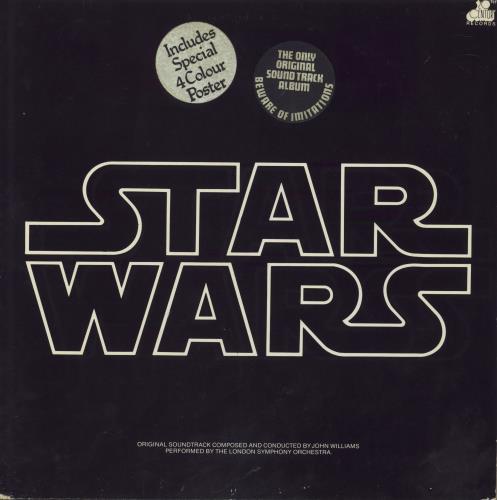 Star Wars Star Wars - 2nd + sticker 2-LP vinyl record set (Double Album) UK WRS2LST708787