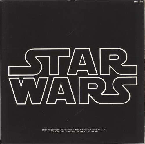 Star Wars Star Wars - Gold Vinyl 2-LP vinyl record set (Double Album) UK WRS2LST739400