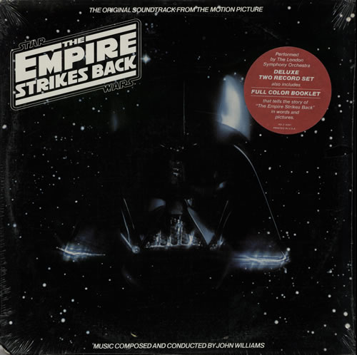 Star Wars The Empire Strikes Back - Sealed 2-LP vinyl record set (Double Album) US WRS2LTH307209