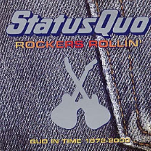 Status Quo Rockers Rollin' CD album (CDLP) UK QUOCDRO197531