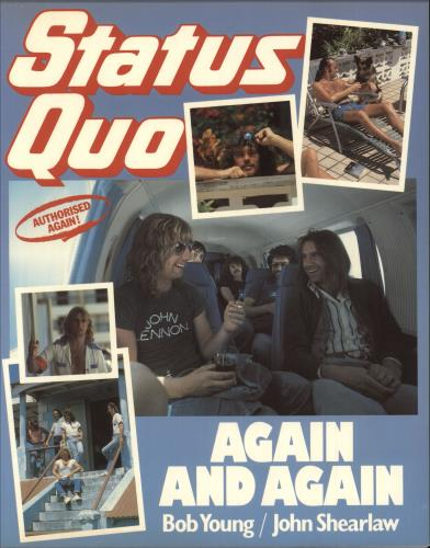 Status Quo Again And Again - The Second Authorized Biography book UK QUOBKAG742736