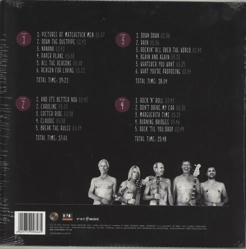 Status Quo Aquostic: Stripped Bare - Sealed 2-LP vinyl record set (Double Album) German QUO2LAQ705158