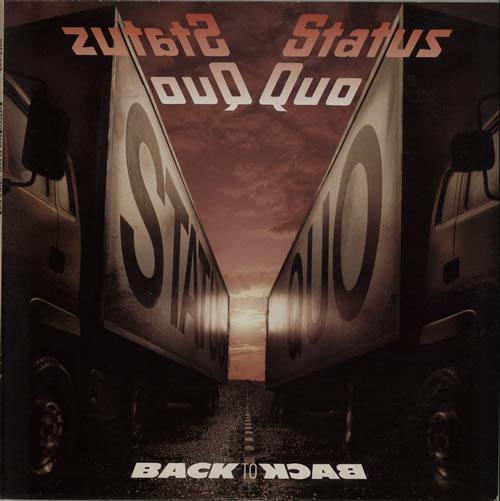 Status Quo Back To Back vinyl LP album (LP record) Japanese QUOLPBA250211