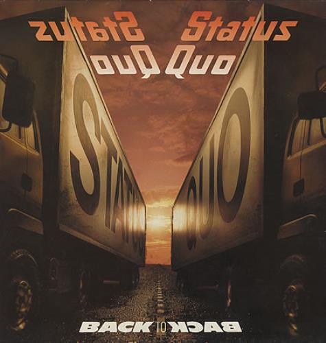 Status Quo Back To Back vinyl LP album (LP record) UK QUOLPBA362325