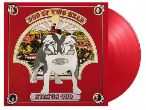 Status Quo Dog Of Two Head - 180 Gram Red Vinyl vinyl LP album (LP record) UK QUOLPDO755036
