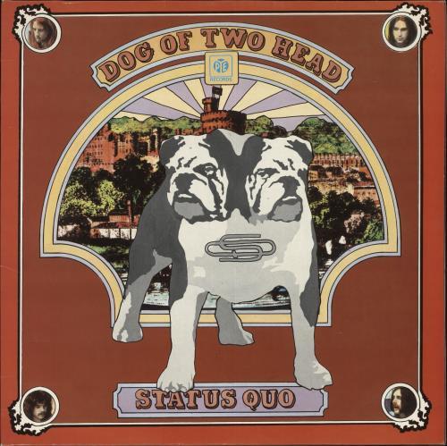 Status Quo Dog Of Two Head vinyl LP album (LP record) UK QUOLPDO681185