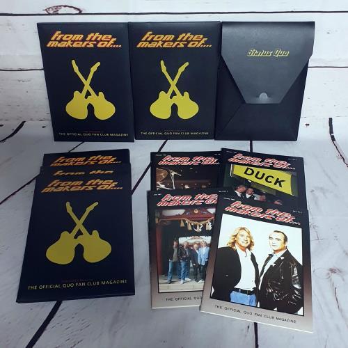 Status Quo From The Makers Of.... - 52 Fanzines fanzine UK QUOFAFR731453