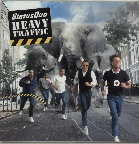 Status Quo Heavy Traffic 2002 + bag tour programme UK QUOTRHE677265