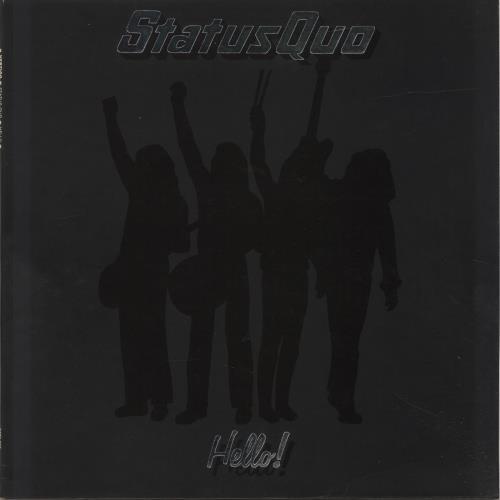 Status Quo Hello! vinyl LP album (LP record) UK QUOLPHE210292
