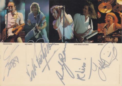 Status Quo Live Alive Quo - Autographed CD album (CDLP) UK QUOCDLI662949