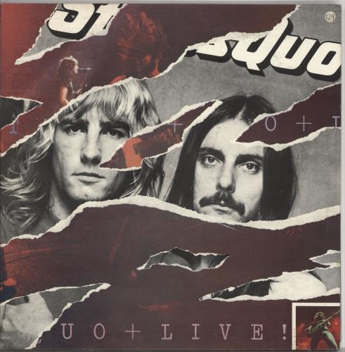 Status Quo Live 2-LP vinyl record set (Double Album) Italian QUO2LLI722721