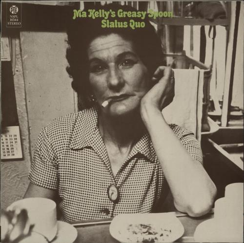 Status Quo Ma Kelly's Greasy Spoon - 2nd - Ruby Red vinyl LP album (LP record) UK QUOLPMA756039
