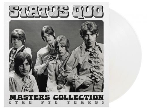 Status Quo Masters Collection (The Pye Years) - White Vinyl 2-LP vinyl record set (Double Album) UK QUO2LMA777004