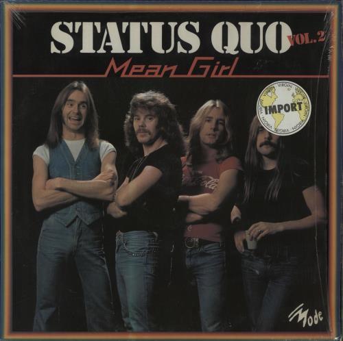 Status Quo Mean Girl vinyl LP album (LP record) French QUOLPME205452