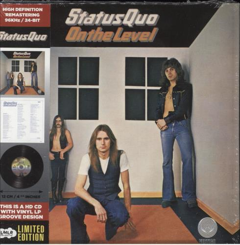 Status Quo On The Level + Obi - Sealed CD album (CDLP) French QUOCDON657207