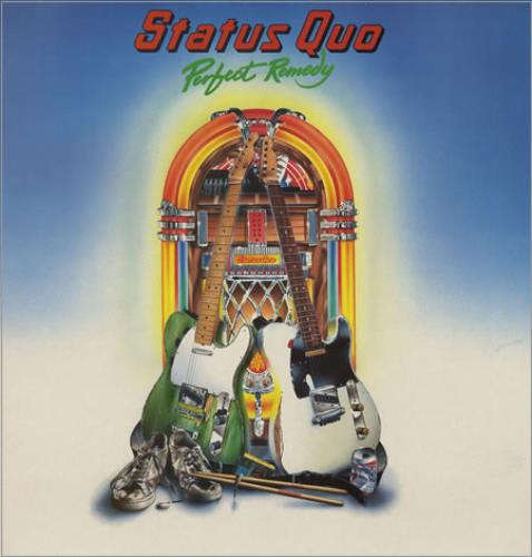 Status Quo Perfect Remedy vinyl LP album (LP record) UK QUOLPPE357521