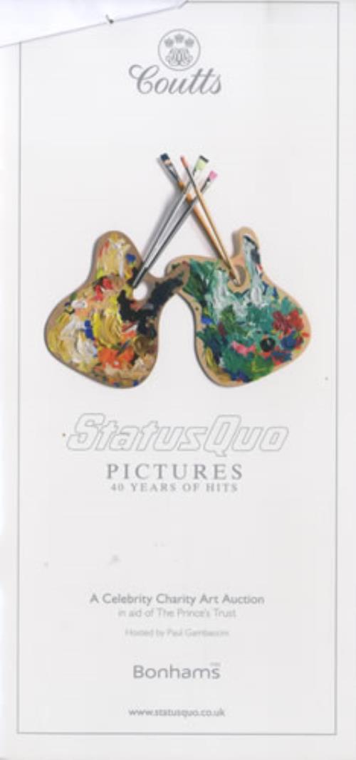 Status Quo Pictures - 40 Years Of Hits memorabilia UK QUOMMPI456249
