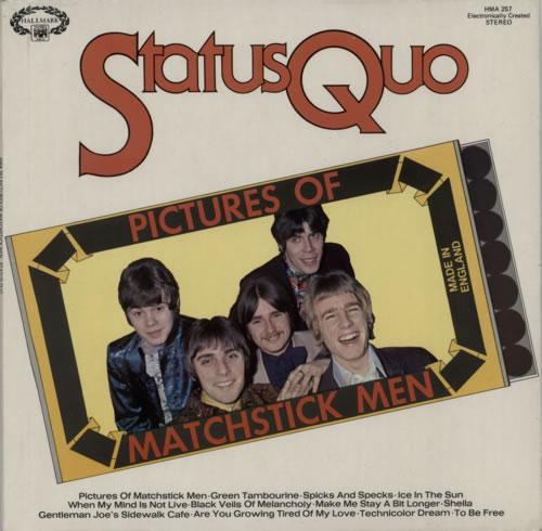 Status Quo Pictures Of Matchstick Men vinyl LP album (LP record) UK QUOLPPI597156