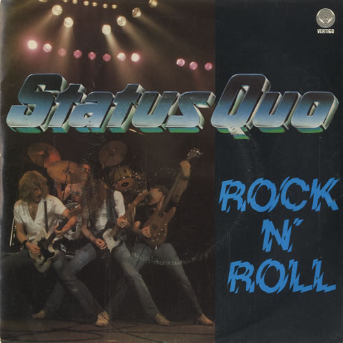"Status Quo Rock N' Roll - P/S 7"" vinyl single (7 inch record) UK QUO07RO47053"