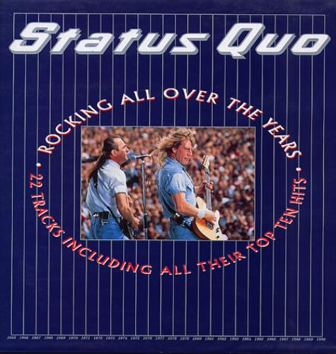 Status Quo Rocking All Over The Years Uk 2 Lp Vinyl Record