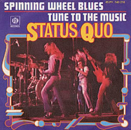 "Status Quo Spinning Wheel Blues 7"" vinyl single (7 inch record) French QUO07SP115497"