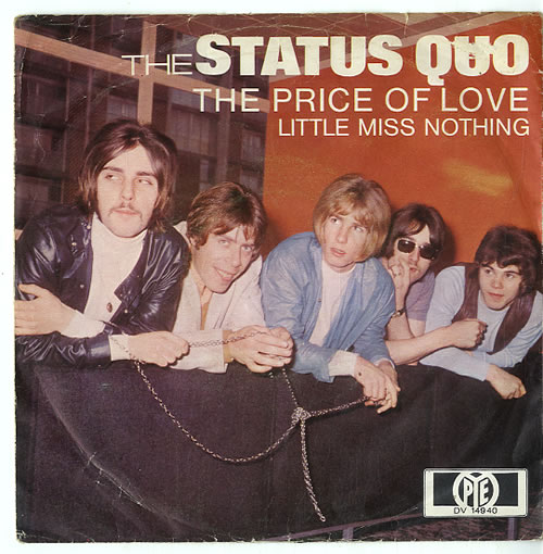 "Status Quo The Price Of Love - EX 7"" vinyl single (7 inch record) German QUO07TH623566"