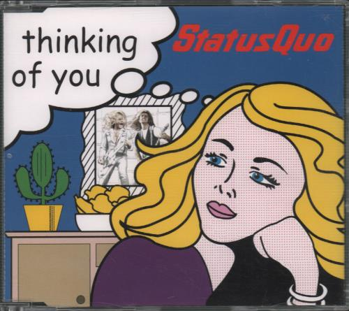 """Status Quo Thinking Of You CD single (CD5 / 5"""") UK QUOC5TH662959"""