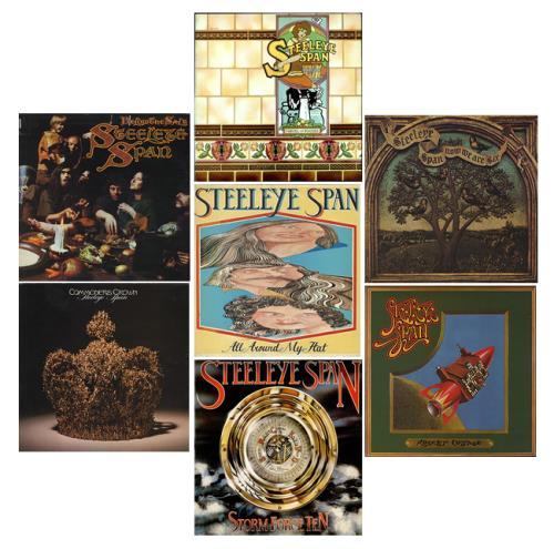 Steeleye Span 1972-1977 Studio Albums UK vinyl LP album (LP
