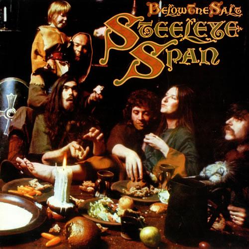 Steeleye Span Below The Salt - 3rd vinyl LP album (LP record) UK SSPLPBE495404