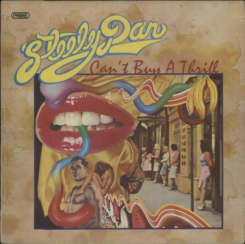 Steely Dan Can't Buy A Thrill - 1st vinyl LP album (LP record) UK S-DLPCA149879