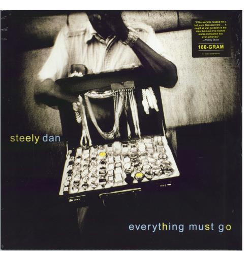 Steely Dan Everything Must Go - RSD 2021 - Sealed vinyl LP album (LP record) UK S-DLPEV770213